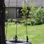 Diy How To Make A Tire Swing For 2 Kids Easy Set Up In 1 Hour Lehman Lane
