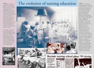 Nursing School Exhibit