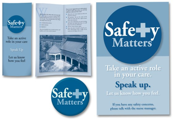 Safety Matters Program logo and marketing materials.