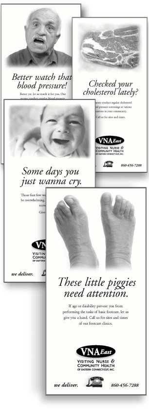 Print ads VNA (Mousetrap Advertising and Design)