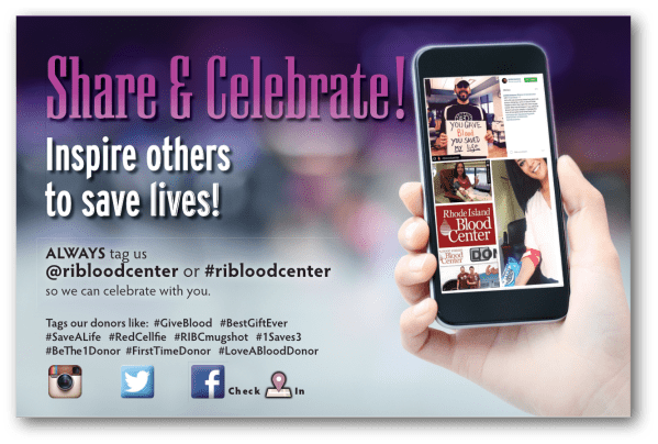 RI Blood Center poster1