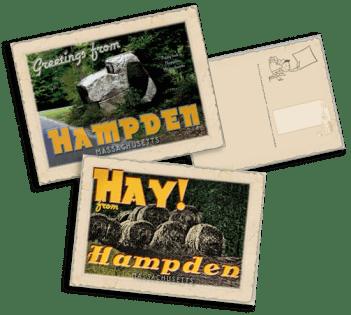 Hampden-postcards
