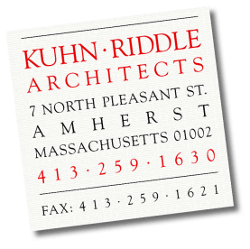 Logo for Kuhn-Riddle Architects, Amherst