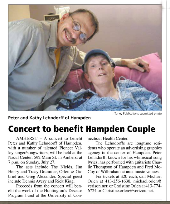 From the Hampden-Wilbraham Times.