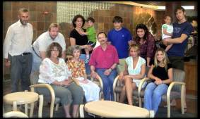 Family photo when my mom was in hospice in Boulder.