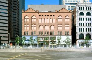 The Masonic Temple before the fire