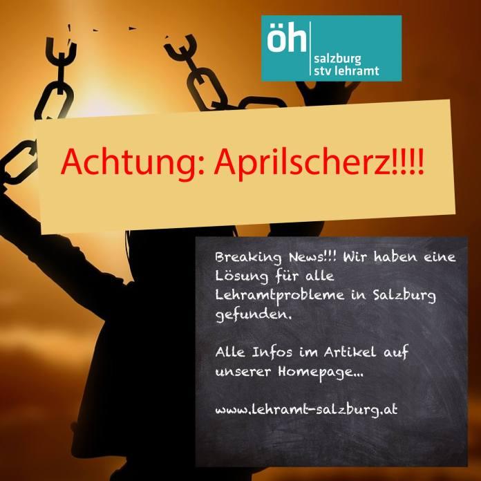 STV Lehramt übernimmt die Lehramtausbildung Salzburg