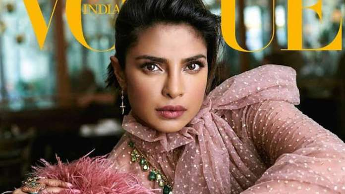 Priyanka Chopra in her Vogue interview confesses that having a baby is on her to-do list