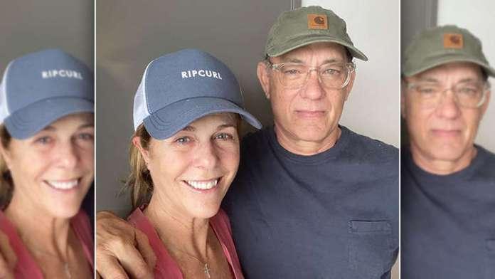 Coronavirus Diagnosed Couple Tom Hanks and Rita Wilson Posts First Pic On Social Media