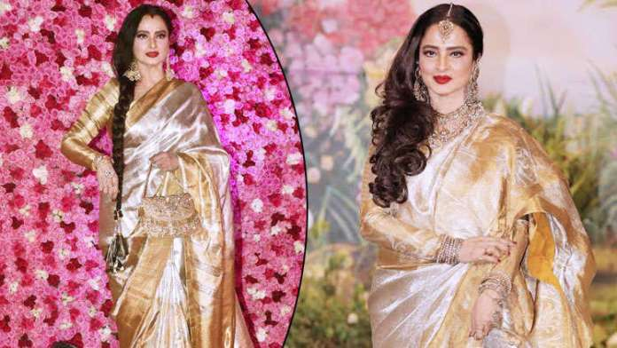 Happy Birthday Rekha 5 Times The Pretty Lady Gave Major Saree Goals