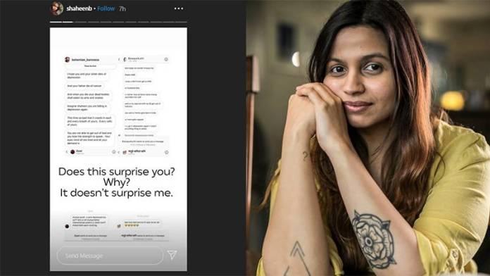 Shaheen Bhatt To Not Let Go Culprits Behind Online Rape Threats