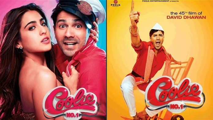 Varun Dhawan & Sara Ali Khan Starrer Coolie No.1 Will Release In Theatres On THIS Date