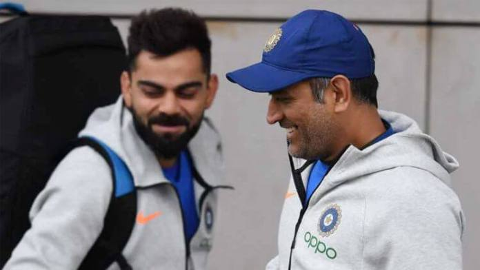Virat Kohli On How MS Dhoni Helped Him In Becoming A Captain