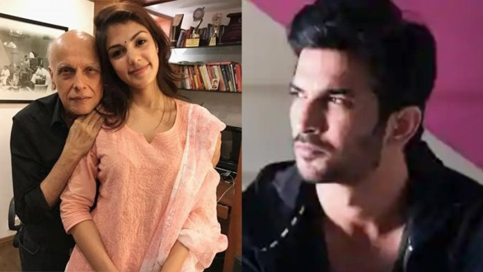 Sushant Singh Rajput Row: Rhea Chakraborty Messaged Mahesh Bhatt Before Leaving The Late Actor's Place On June 8