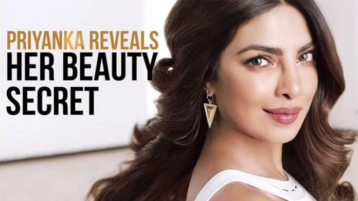 Revealed Beauty secrets of Priyanka Chopra