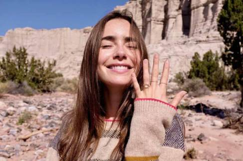 Lily Collins Got Engaged To Charlie McDowell