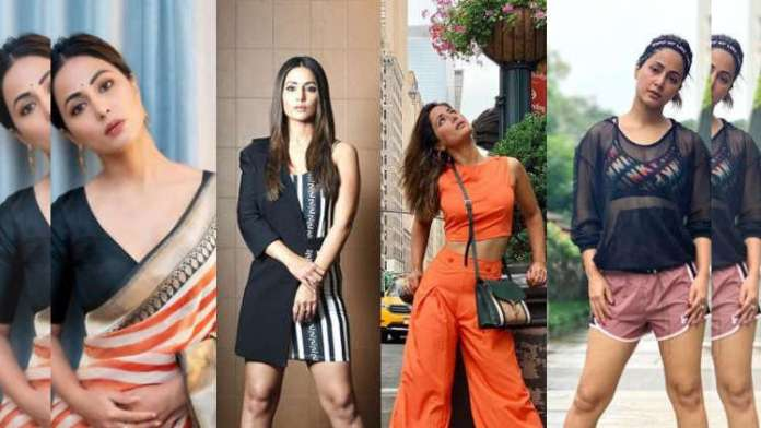 Hina Khan and her Impressive Fashion Choices