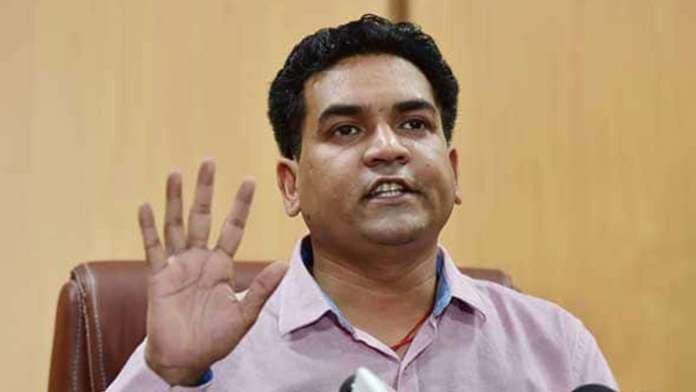 AAP asks EC to cancel candidature of BJP's Kapil Mishra
