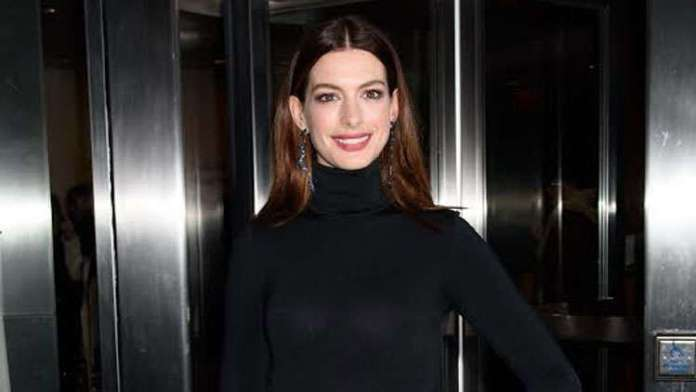 Anne Hathaway Shows Off Her Stunning Figure After Secretly Delivering Her Second Baby