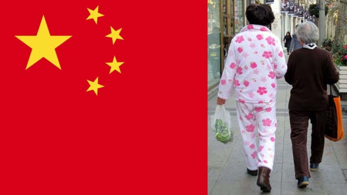 Chinese city shames people for wearing pyjamas in public, apologises