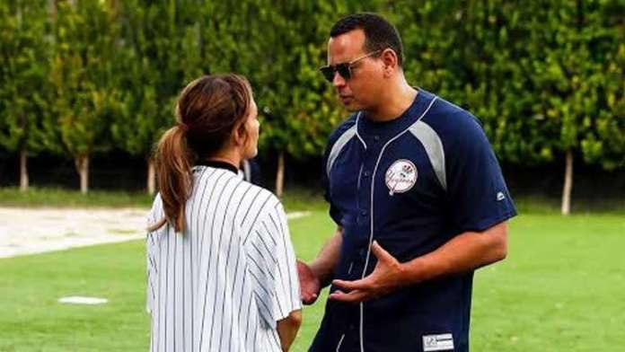 JLo Pokes Fun At Fiance A-Rod While Playing Softball With Family!