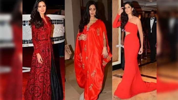 Katrina Kaif Stuns In These Red Outfits, And Katrina Kaif Looks Pretty Drop-Dead