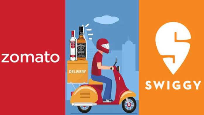 Lockdown: Swiggy and Zomato to home deliver liquor in Jharkhand