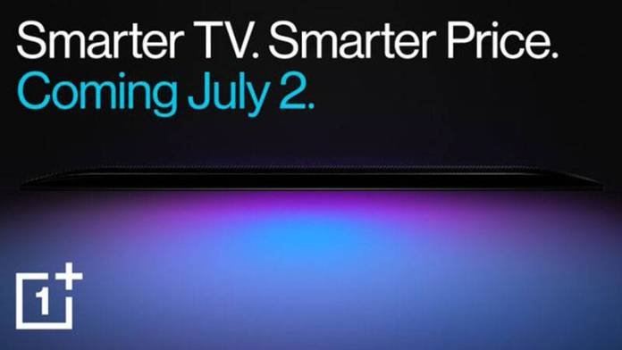 OnePlus announcing affordable Smart TV in India on July 2