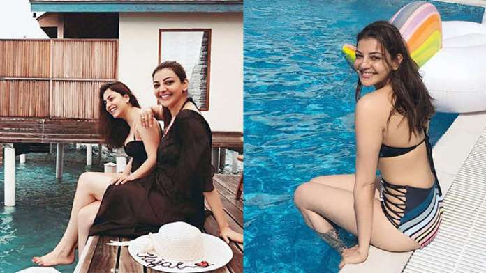 Kajal Aggarwal Bikini Looks Killing with just a glimpse of this beauty