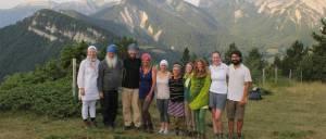 Lehrerausbildung Intensivwoche Frankreich Panorama mit Karta Singh