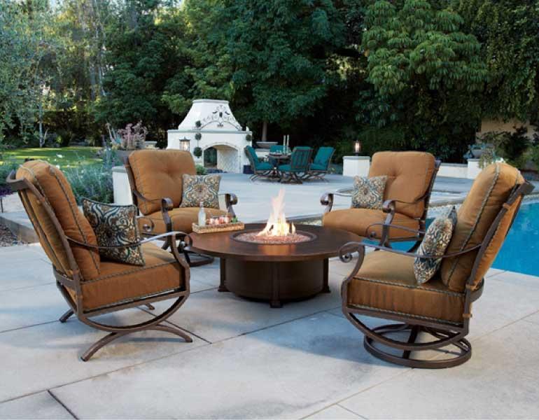 fireplace patio furniture denver