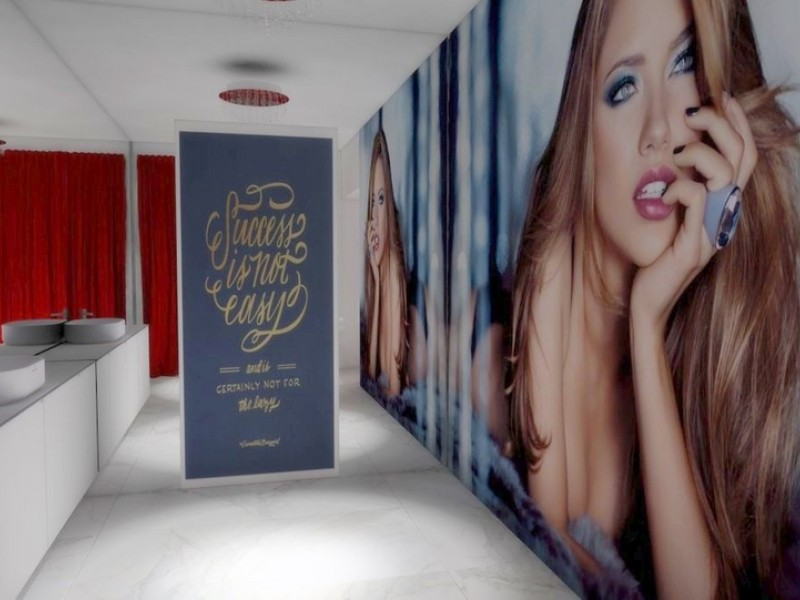 Les studios de camgirls avec des dizaines de chambres.