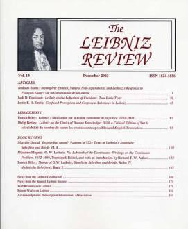 Vol. 13 (2003)