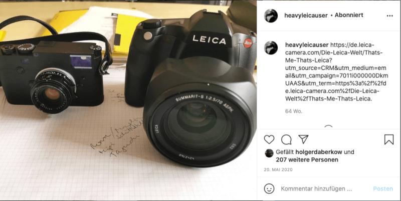 Leica M und Leica S