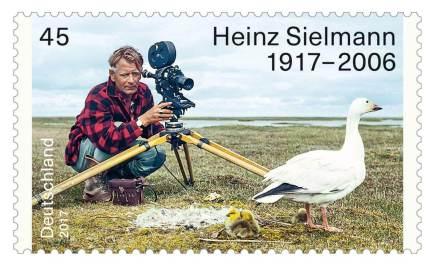 Zu seinem 100. Geburtstag wurde Heinz Sielmann eine Briefmarke gewidmet