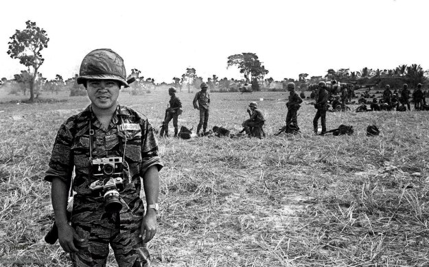 AP staff photographer Nick Ut  in Vietnam during the 1970s. AP Photo/Nick Ut
