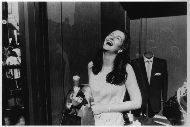 GarryWinogrand-WomanwithIce-CreamCone1968
