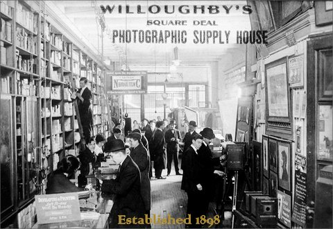 1898 Willoughbys Leica Boutique opens at Willoughby's Imaging Center, New York