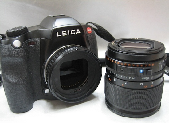 Hasselblad lens adapter for leica S2