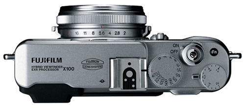 fuji x100 top Fuji X100 vs. Leica X1 specs comparison