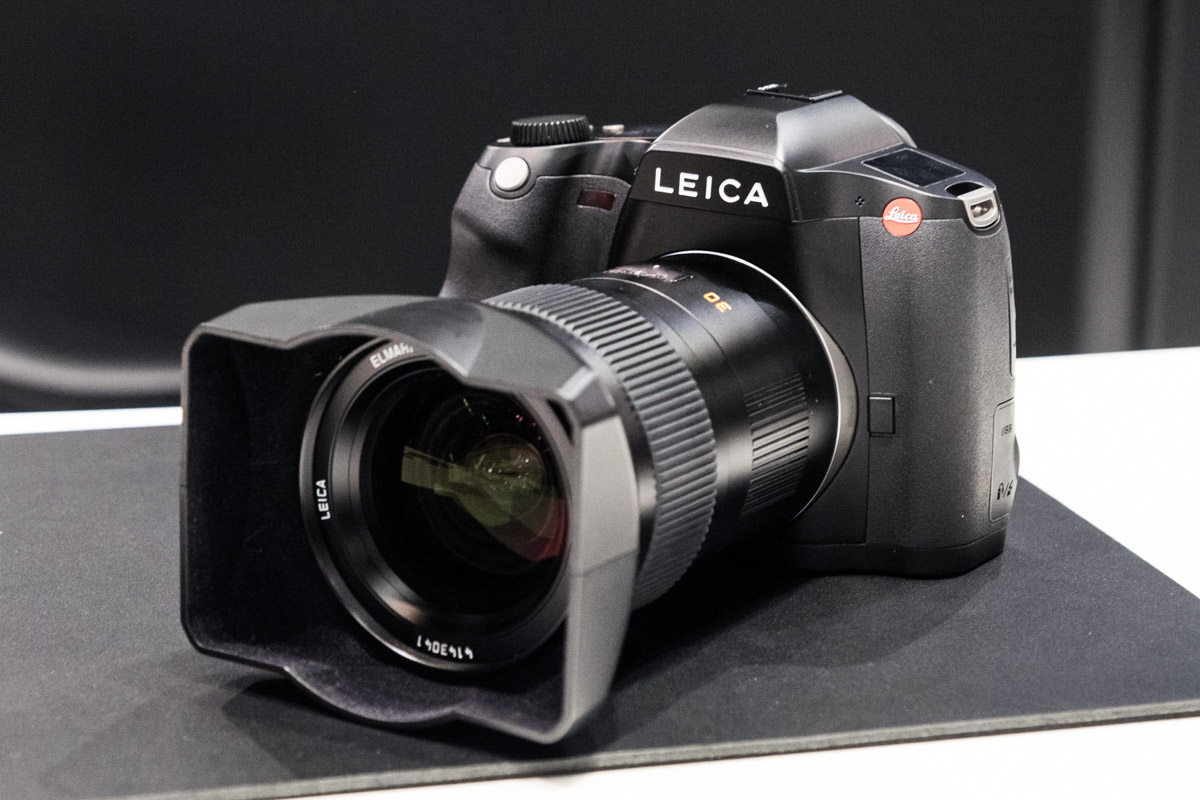 Additional Photokina coverage of the newLeica S3medium format camera - Leica Rumors