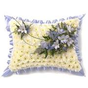 Blue-White-Pillow