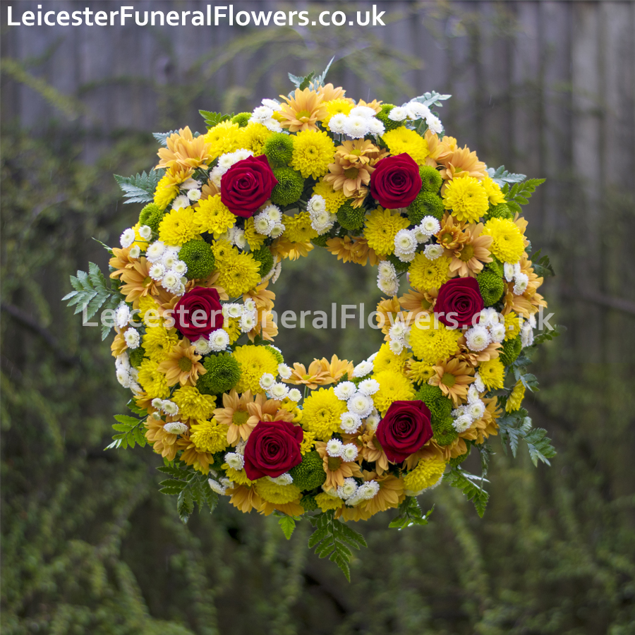 Flowers for funeral in leicester wreaths funeral flowers leicester how can you order funeral wreaths with us izmirmasajfo