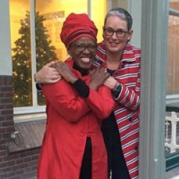 Mpho Tutu Get's Hitched to fiancee Prof. Marceline Furth