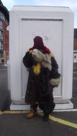 Tendai and his fur jacket