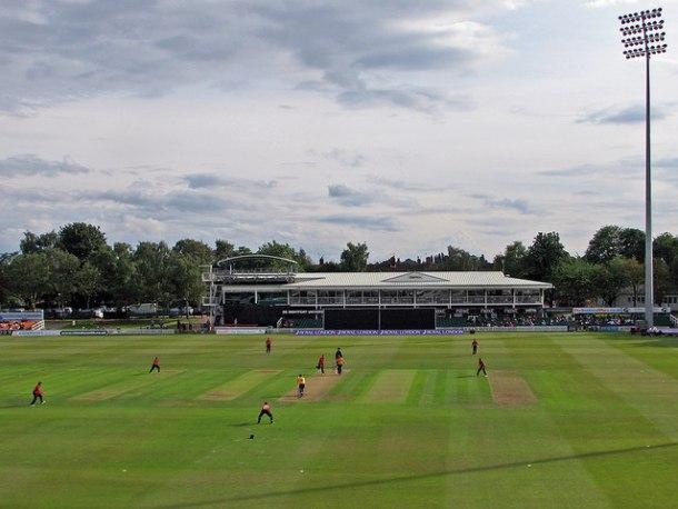 floodligts cricket ground