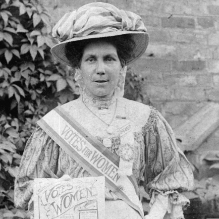 One of the few remaining photos of Alice Hawkins. Source   Leicester City Council.