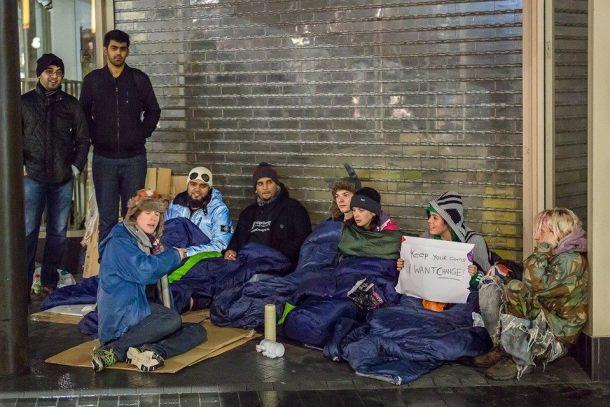 leicetser homeless charity