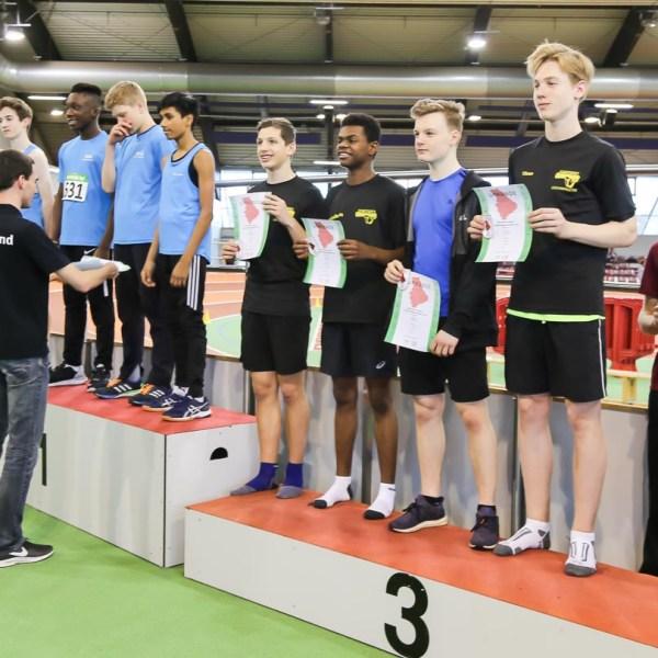 MTV U16 sammelte Podestplätze bei den U16 Nordrhein-Hallenmeisterschaften