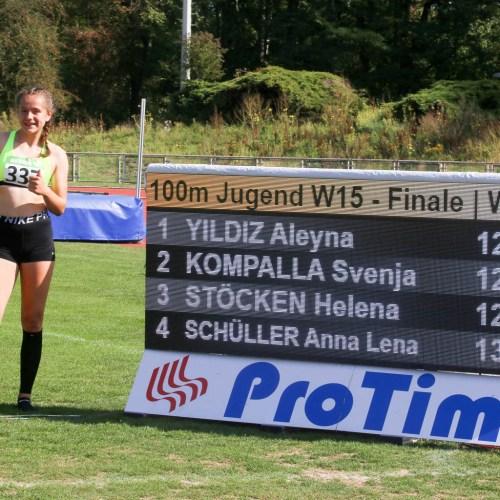 Silber für Svenja bei den Nordrhein-Meisterschaften